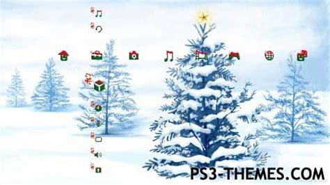christmas themes ps3 ps3 themes 187 xmas theme