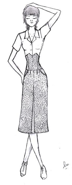fashion illustration kursus design murid illustration kursus tata busana wiwi