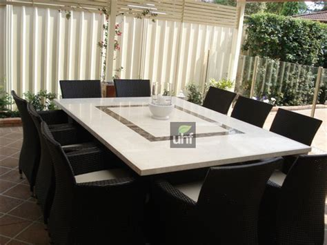 10 seater outdoor dining table travertine wicker 10 seater outdoor dining furniture