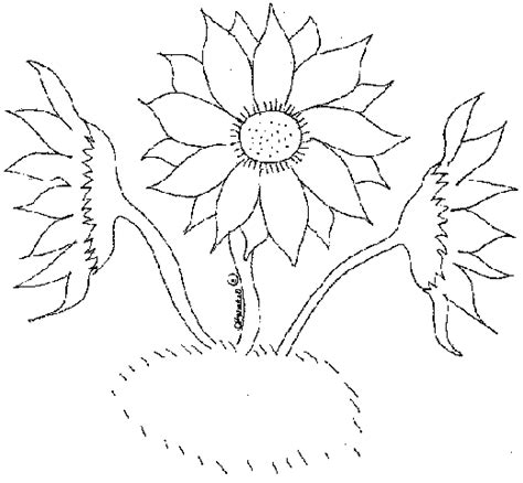 Drawing Outlines For Painting by Sunbeamflowers Flowers Outlines