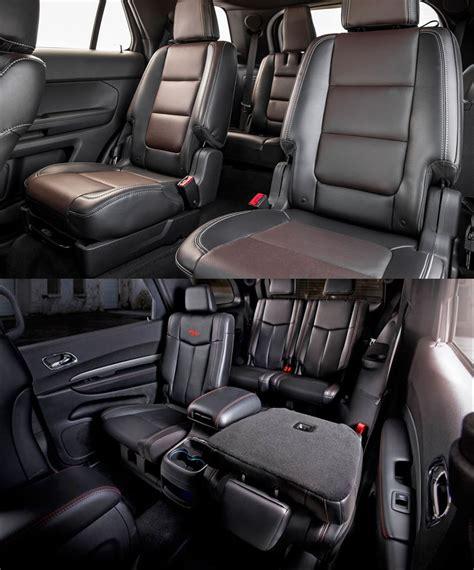 dodge durango interior 2016 dodge durango vs ford explorer youtube autos post