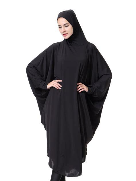 modest khimar jilbab overhead prayer muslim
