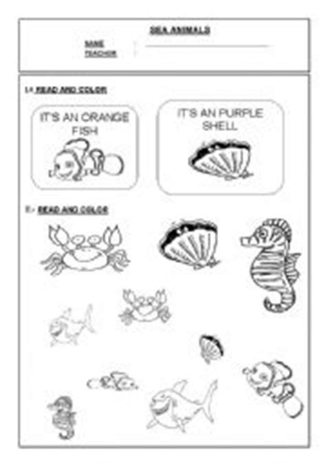 water animals worksheets kindergarten water animals worksheets for kindergarten science sea animals worksheets kindergartenwater