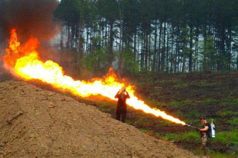 Cool Plans this 65 foot flamethrower is totally legal to own for a