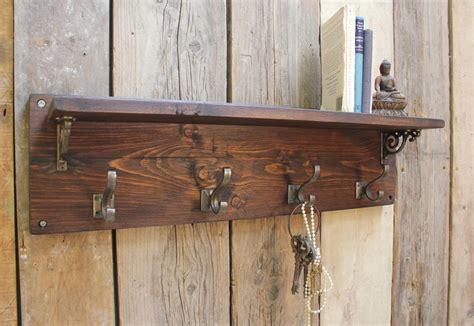 Shelf Coat Hook by Reclaimed Wood Coat Hook Shelf By M 246 A Design