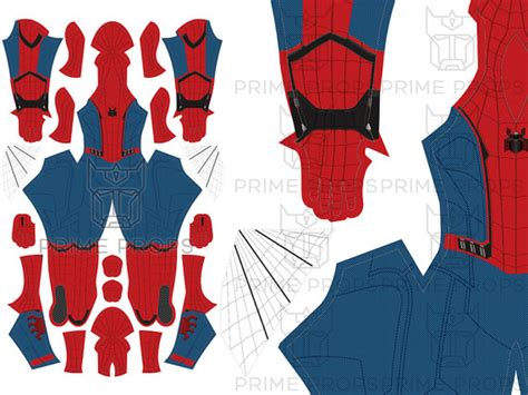 spiderman suit pattern free homecoming spiderman costume pattern