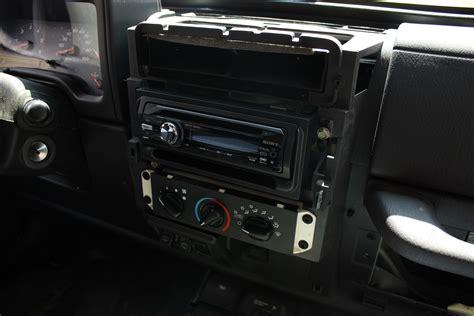 Radio For Jeep Wrangler Upgrading A 2001 Jeep Wrangler Stereo Shanekirk