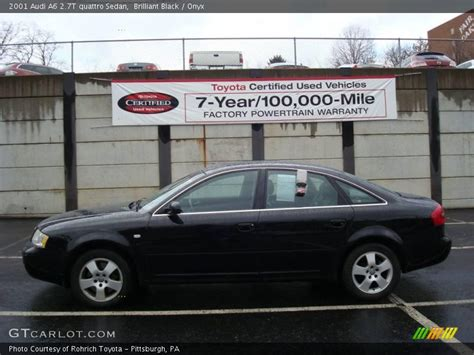 2001 audi a6 2 7t specs 2001 audi a6 2 7t quattro sedan in brilliant black photo