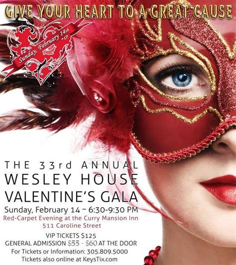 wes valentines the 33rd annual wesley house valentines day gala at