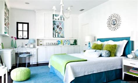 blue and green teen girls room transitional girl s room tween girl s room contemporary girl s room martensen