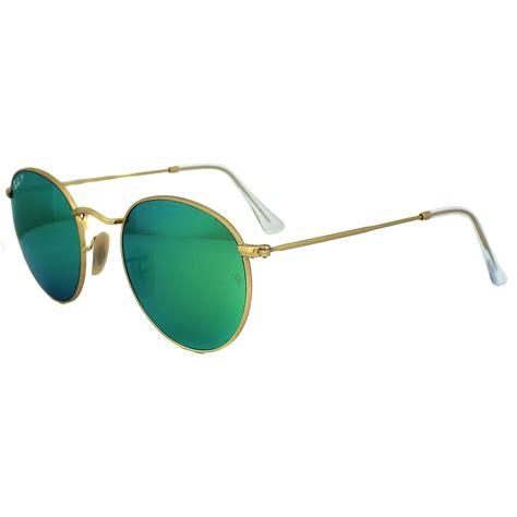 Kacamata Frame Rayban R622 Cat Eye Model ban sunglasses metal 3447 112 p9 gold green polarized flash mirror