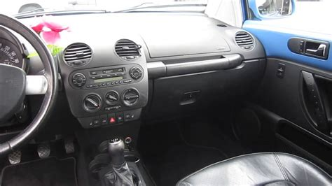 beetle volkswagen interior 2001 volkswagen beetle blue stock 428667 interior