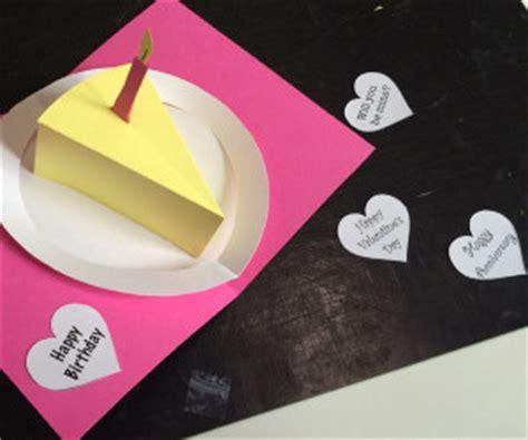 pop up birthday cake card template printable printable cake make a delicious birthday pop up card