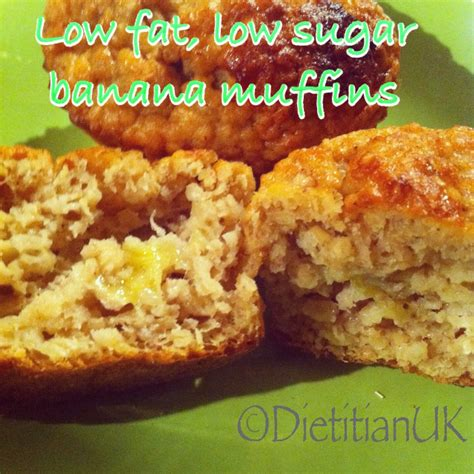 healthy fats dietitian dietitian uk low low sugar banana muffins