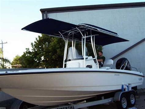 boat t top welding extend a top boat shades by action welding of southwest fl