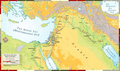 ancient middle east map monidesign categories historical maps