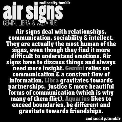 air signs gemini libra aquarius gemini