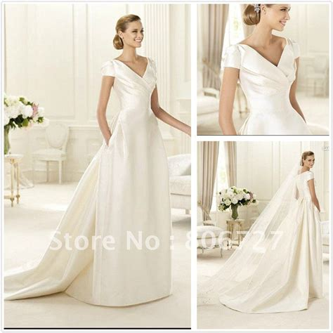 Simple Wedding Gowns With Sleeves by Simple Wedding Dress With Sleeves