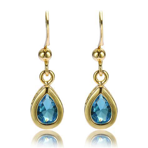 jewelry sale 18k yellow gold plated gp dangle