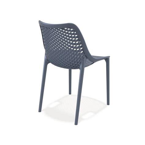 sedie e sedie tt1050 sedia da giardino in polipropilene e fibra di