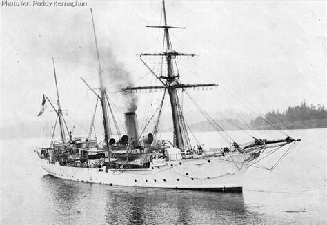boat supply stores halifax hms shearwater a circa 1900 old condor class sloop 980
