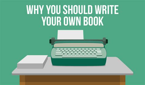 Your Is A Book why you should write your own book and how to do it