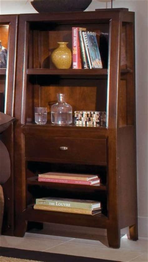 Bedside Bookcase Nightstand american drew 912 402 bookcase nightstand tribecca traditional nightstands and bedside