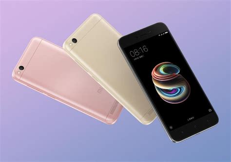 Xiaomi Redmi 5a New xiaomi redmi 5a goes official with 5 inch display