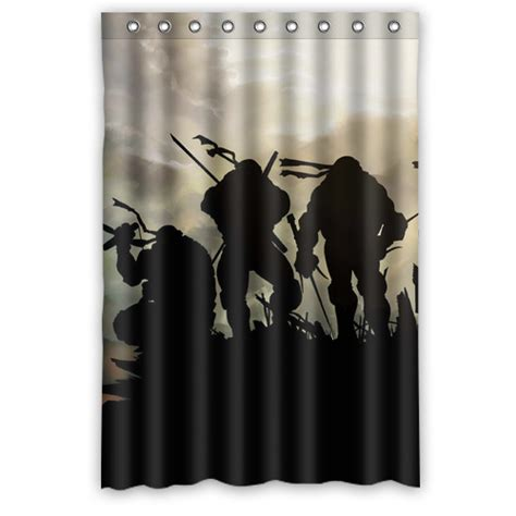 teenage mutant ninja turtles shower curtain brand new waterproof teenage mutant ninja turtles tmnt
