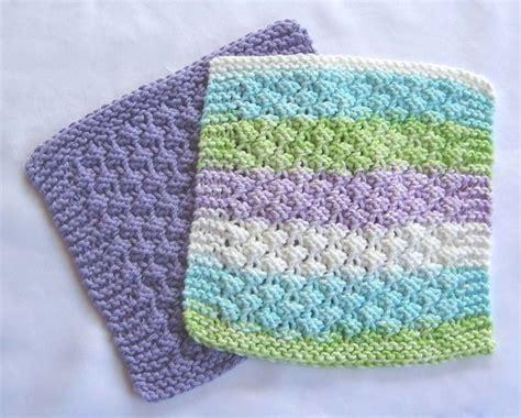knitting washcloths knit dishcloth cotton washcloths knitted pink green