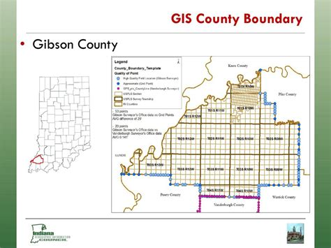 county gis indiana building an authoritative gis statewide county boundary