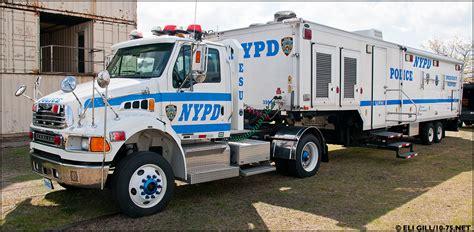 truck ny ny nypd esu truck