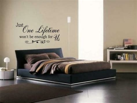 wall decals for rooms just one lifetime wall vinyl decal bedroom lettering words quote saying 24 quot ebay