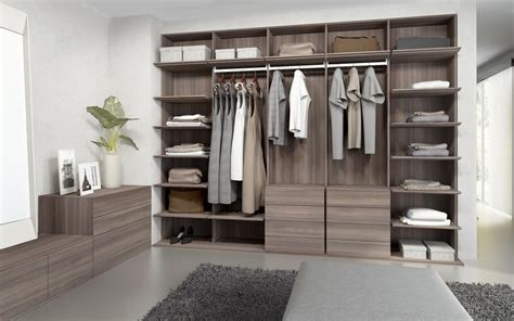 Buy Walk In Closet by Walk In Closets Elm Chocolate Built In Cupboards From
