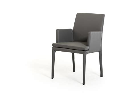 dex modern grey leatherette dining chair dining chairs