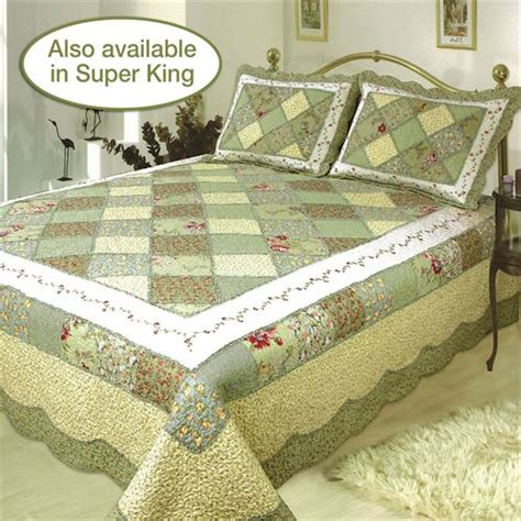patchwork bedding cotton patchwork quilt bedding