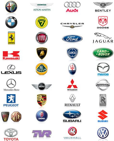 Auto Logos Raden by World Of Cars Car Brands