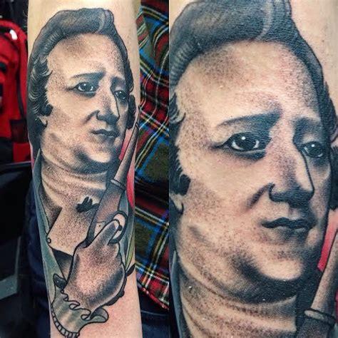 tattoo parlor hamilton black and gray alexander hamilton portrait gary dunn art