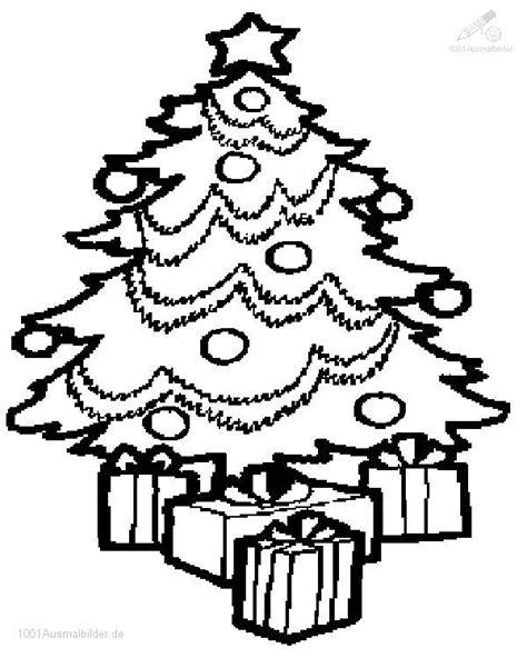 ausmalbild ausmalbild weihnachtsbaum 13