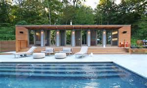 House Plans With Pool House by The Connecticut Pool House 4