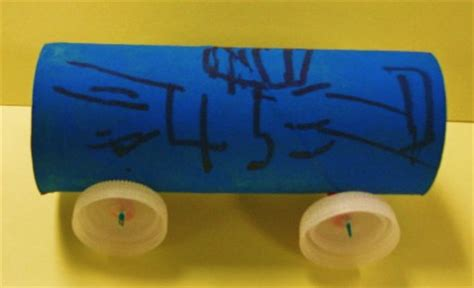 Toilet Paper Roll Car Craft - learning ideas grades k 8 do wheels make work easier
