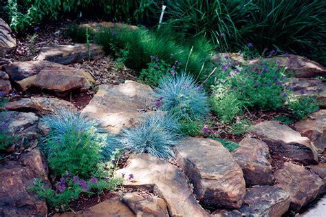 Bush Rock Garden Edging Resource Conservation Alabama Gardener Web Articles