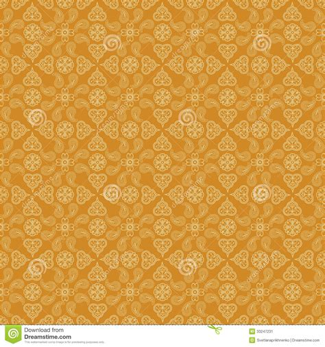 yellow indian pattern background indian paisley background stock image image of seamless
