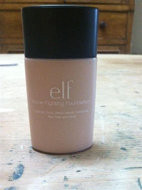 E L F Acne Fighting Foundation e l f cosmetics acne fighting foundation reviews photos