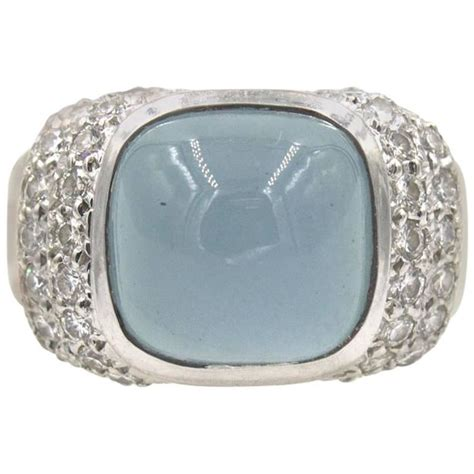 marlene stowe modern moonstone white gold ring at