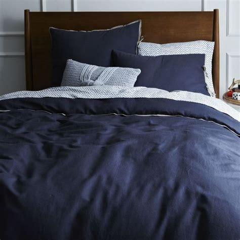 Navy Queen Duvet Cover West Elm Linen Cotton Blend Duvet Cover Full Queen India