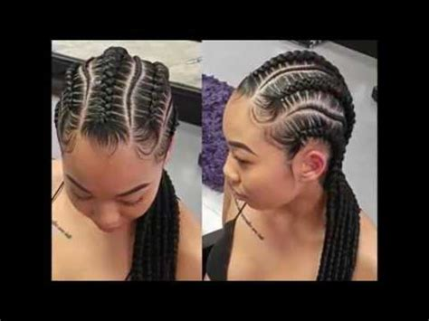 smart braids hairstyles for african cute ladies youtube