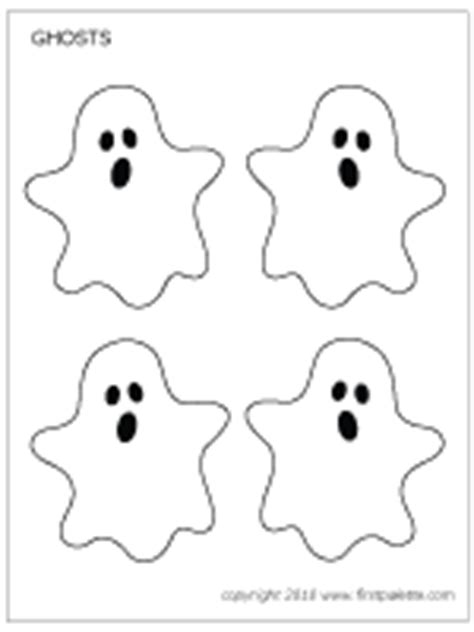 printable paper ghost halloween ghosts printable templates coloring pages