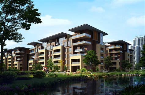 For Apartment by Apartment Medium Rise Neo Building Design