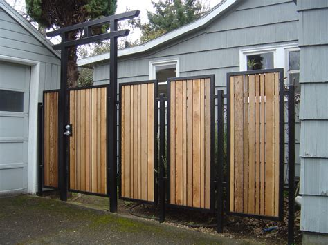 house of cool trex slat cool fences for modern house modern house design the security of cool